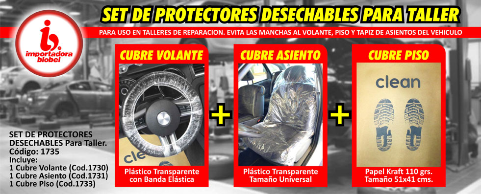 Protectores Desechables