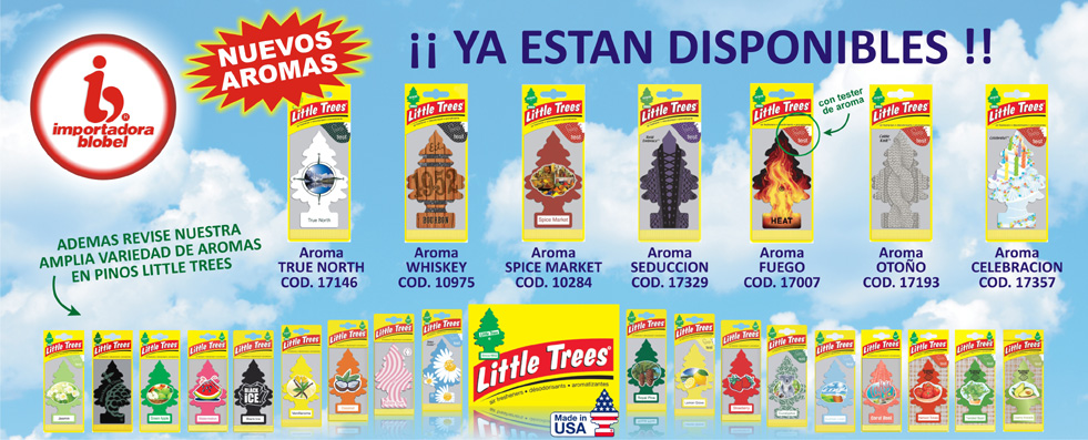 Pinos Little Trees Nuevos Aromas
