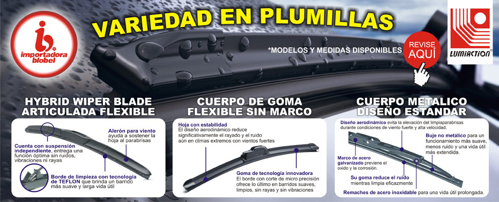 Plumillas Lumiaction 3 Modelos